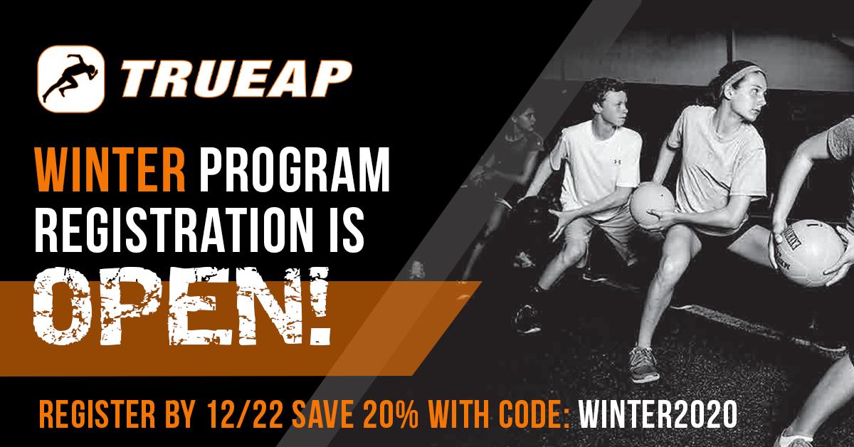 Winter Performance Training Registration - True AP - Performance Training